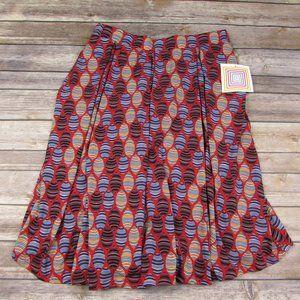LuLaRoe Medium Madison Skirt Geometric